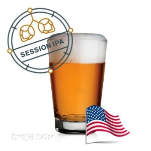 Session IPA kit receita - Breja Box
