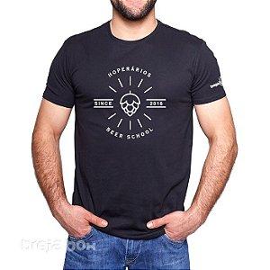 Camiseta Cervejeira HOPerários (Preta)