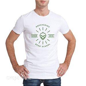 Camiseta Cervejeira HOPerários (Branca)