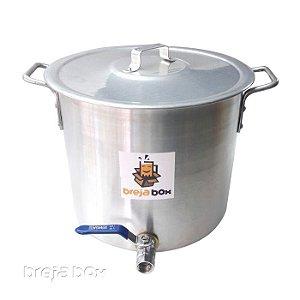 Panela Cervejeira 15 litros para mostura / fervura - Breja Box