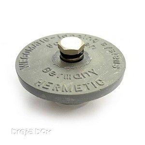 Tampão com alívio de pressão para mini keg - Breja Box