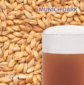 Malte Munich Dark Best Malz | 28 EBC Breja Box