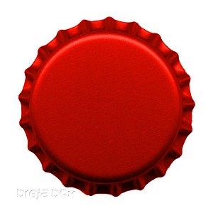 Tampinha de garrafa Vermelha - 100 unidades |PRY OFF - Breja Box