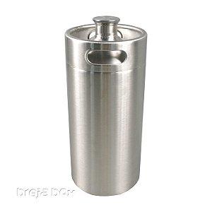 Growler em aço inox 3,6 litros - Breja Box