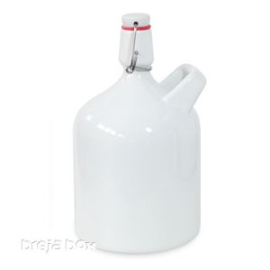 Growler Baviera 2,0 litros - liso Breja Box