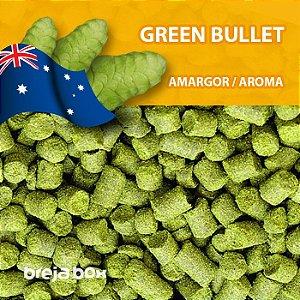 Lúpulo Green Bullet - 50g em pellet | Breja Box