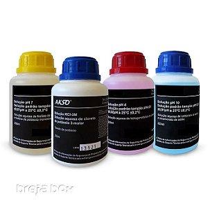 Combo de soluções para medidores de pH - Breja Box