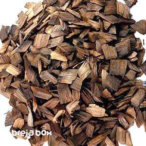 Chips de carvalho americano 50g tosta media - Breja-Box