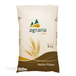 Saca de Malte Pilsen Agrária 5kg | 4 EBC - Breja Box