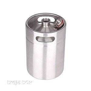 Growler em aço inox 5 litros - Breja Box