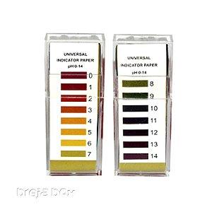 Fita para medir pH - Breja Box