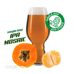 IPA Single Mosaic kit receita - Breja Box