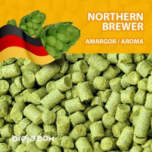 Lúpulo Northern Brewer - 50g em pellet