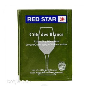 Fermento Cote Des Blancs - Red Star Breja Box