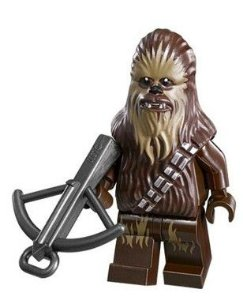 Mini Figura Compatível Lego Chewbacca Star Wars