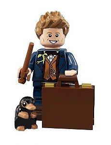 Boneco Compatível Lego Newt Scamander - Harry Potter (Edição Especial)