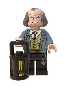 Boneco Compatível Lego Argo Filch - Harry Potter