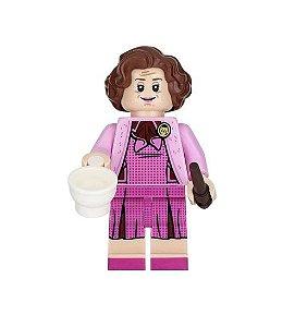 Boneco Compatível Lego Dolores Umbridge - Harry Potter