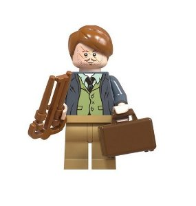 Boneco Compatível Lego Professor Lupin - Harry Potter