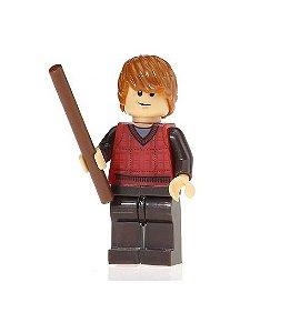 Boneco Compatível Lego Ron Weasley - Harry Potter