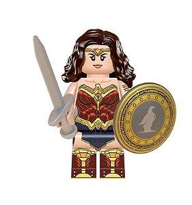 Boneco Mulher Maravilha Lego Compatível - Dc Comics (Edição Especial)