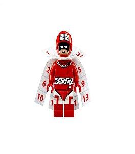 Boneco Compatível Lego Homem Calendário - Dc Comics