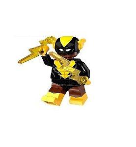 Boneco Compatível Lego Raio Negro - Dc Comics