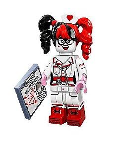 Boneco Compatível Lego Arlequina Enfermeira - Dc Comics