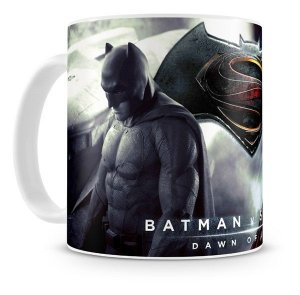 Caneca Porcelana Dc Comics - Batman v Superman