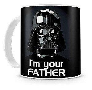 Caneca Porcelana Darth Vader I'm Your Father