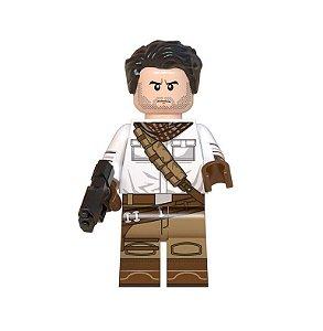 Boneco Poe Dameron Star Wars Lego Compatível