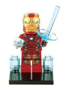 Boneco Homem de Ferro Lego Compatível - Marvel (Edição Especial)