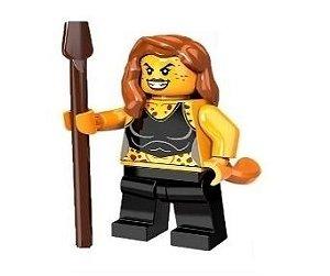 Boneco Compatível Lego Mulher Leopardo - Dc Comics