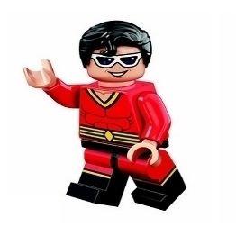 Boneco Compatível Lego Homem Borracha - Dc Comics