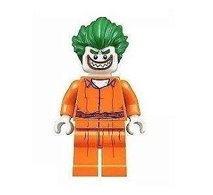 Boneco Compatível Lego Coringa Prisioneiro - Dc Comics (Edição Especial)