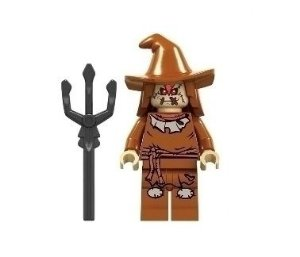 Boneco Compatível Lego Espantalho Trident - Dc Comics (Edição Especial)