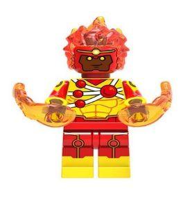 Boneco Compatível Lego Nuclear Desenho - Dc Comics (Edição Especial)