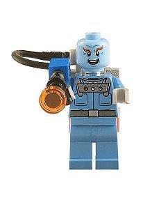 Boneco Compatível Lego Mr. Freeze - Dc Comics