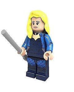 Boneco Compatível Lego Canário Negro - Dc Comics