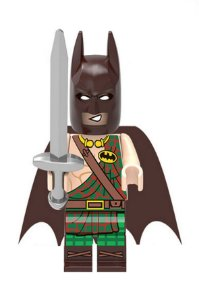 Boneco Compatível Lego Batman Espartano - Dc Comics (Edição Especial)