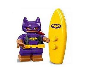 Boneco Compatível Lego Batgirl Roupa de Praia - Dc Comics (Edição Especial)