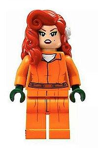 Boneco Compatível Lego Hera Venenosa Prisioneira - Dc Comics