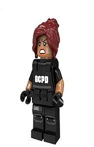 Boneco Compatível Lego Barbara Gordon Colete - Dc Comics