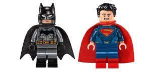 Kit DC Exclusivos Batman V Superman Lego Compatível