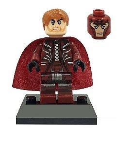 Boneco Magneto Lego Compatível - X-Men Marvel