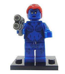 Boneco Mística Lego Compatível - Marvel X-Men