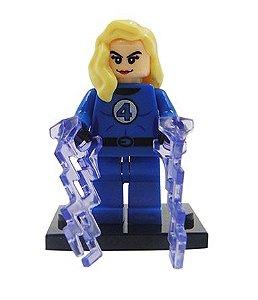 Boneco Mulher Invisível Lego Compatível - Marvel