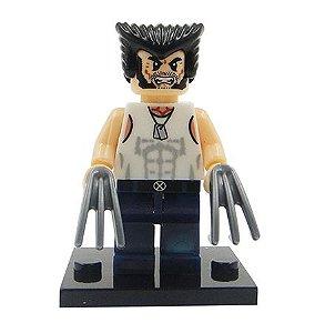 Boneco Wolverine Lego Compatível - Marvel X-Men