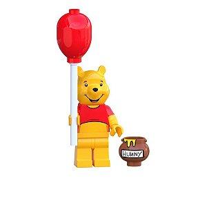 Boneco Ursinho Pooh Lego Compatível