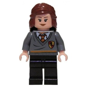 Mini Figura Compatível Lego Hermione Saga Harry Potter
